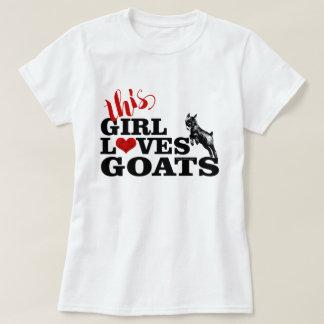 Camiseta A CABRA | esta menina ama o bebê do pigmeu das
