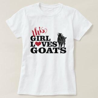 Camiseta A CABRA | esta menina ama o fanfarrão da leiteria