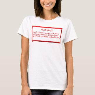 Camiseta A caixa do fogo - gatinhos retardadores
