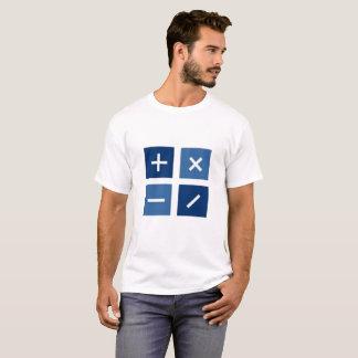 Camiseta A calculadora