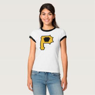 Camiseta A campainha T das mulheres de KeystoneP