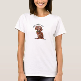 Camiseta A caniche do chocolate mistura-me manipula