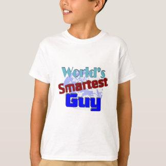 Camiseta A cara a mais esperta do mundo