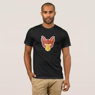 Camiseta A cara completa DuckFox na obscuridade