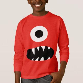 Camiseta A cara Eyed do monstro do gigante o engraçado