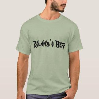 Camiseta A carne de Roland