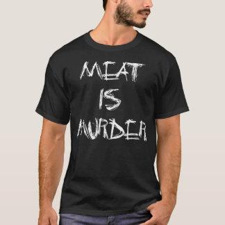 Camiseta A carne é t-shirt do assassinato