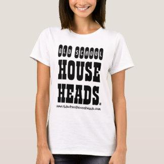 Camiseta A casa da velha escola dirige a senhora T Básico