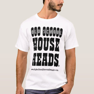 Camiseta A casa da velha escola dirige o T-2 dos homens