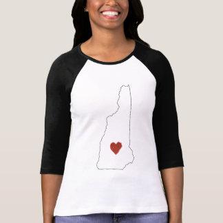 Camiseta A casa é o lugar onde o coração está