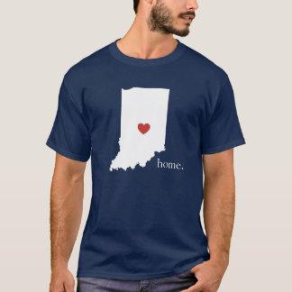 Camiseta A casa é o lugar onde o coração está - Indiana
