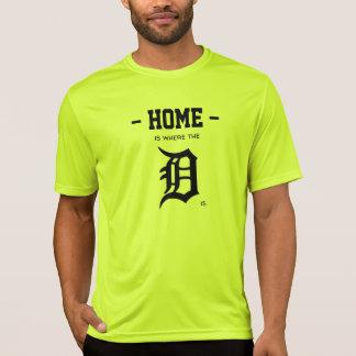 "Camiseta A casa é o lugar onde o ""D"" está"