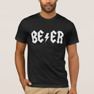 Camiseta A cerveja balança homens