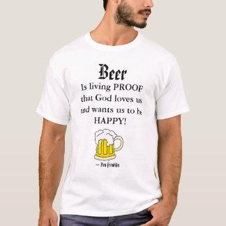 Camiseta A cerveja, é livin…