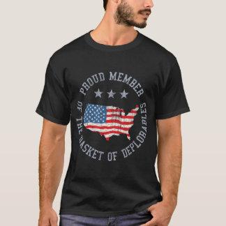 Camiseta A cesta de Deplorables