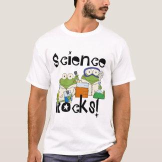 Camiseta A ciência dos sapos balança o t-shirt