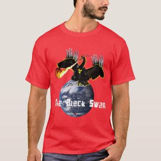 Camiseta A cisne preta