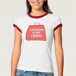 Camiseta A compra é meu cardio-