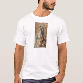 Camiseta A concepção imaculada por litográfico americano