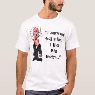 Camiseta A confissão de George Washington