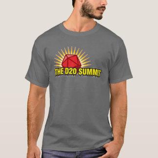 Camiseta A convenção do jogo da cimeira D20