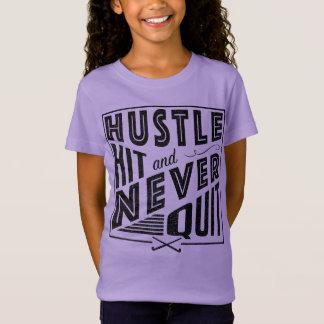 Camiseta A convicção do hóquei em campo, batida & nunca