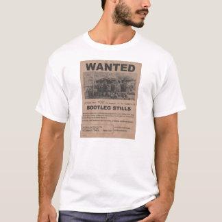 Camiseta A cópia ilegal acalma o t-shirt