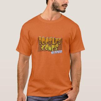 Camiseta A cópia ilegal divide o t-shirt