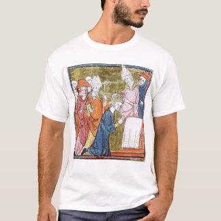 Camiseta A coroação do imperador Charlemagne
