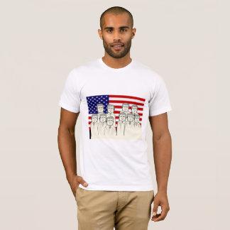 Camiseta A corte suprema ideal do trunfo