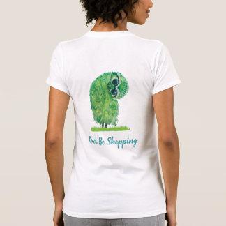 Camiseta A coruja lunática esteja comprando a coruja em