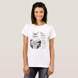 Camiseta A coruja - seja surpreendida