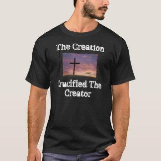 Camiseta A criação Crucified o criador