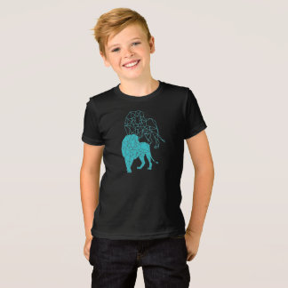 Camiseta A criança & leão de A