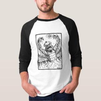 Camiseta A criatura da lagoa preta