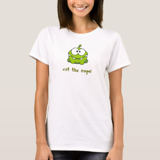 Camiseta A criatura do amante dos doces, cortou a corda