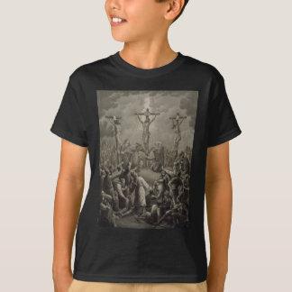 Camiseta A crucificação do cristo morre Kreuzigung Jesu