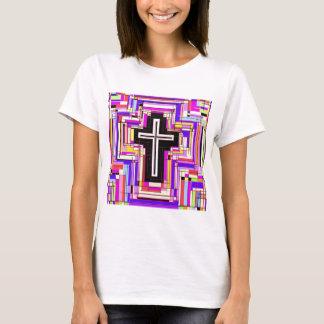 Camiseta A cruz cristã religiosa