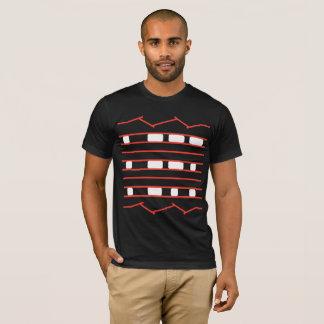 Camiseta A curiosidade Rover de JPL cansa o vermelho & o