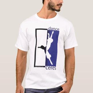 Camiseta a dança ceres jete grande reverso azul