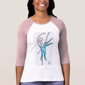 Camiseta A dança como ninguém está olhando o t-shirt