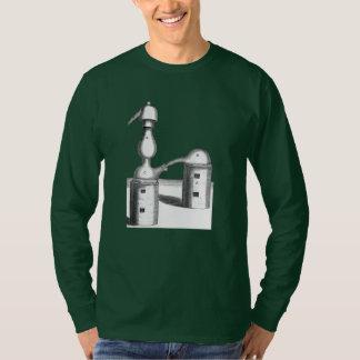 Camiseta A destilação da alquimia utiliza ferramentas a