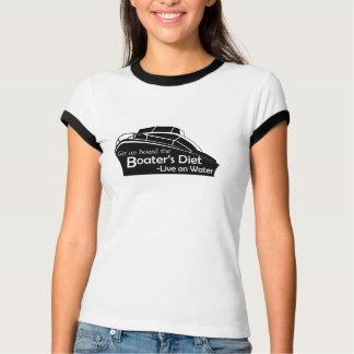 Camiseta A dieta do barqueiro - branco