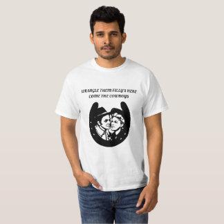 Camiseta A discussão Fillys aqui vem arte do país do