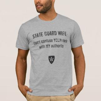 Camiseta A divisa da esposa de TXSG