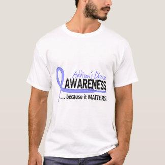 Camiseta A doença de Addison da consciência 2