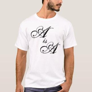 Camiseta A é A