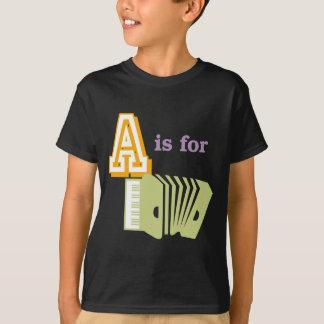 Camiseta A é para o acordeão