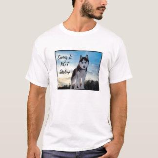 """Camiseta A """"economia não está roubando"""" o t-shirt"""