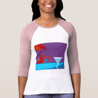 Camiseta A edição da festa de solteira com palmas